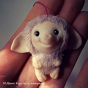 Куклы и игрушки ручной работы. Ярмарка Мастеров - ручная работа Розовый слоник.. Handmade.