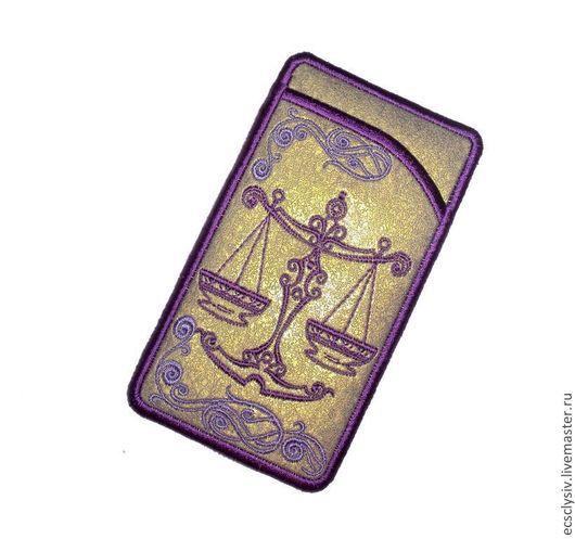"""Для телефонов ручной работы. Ярмарка Мастеров - ручная работа. Купить Чехол для телефона """" Весы.Знаки зодиака  """". Handmade."""