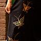 Этническая одежда ручной работы. Заказать Эльфийское платье с ручной росписью. Elven Forest. Ярмарка Мастеров. Необычное платье