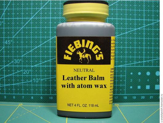 Leather Balm w/ Atom Wax -НА РОЗЛИВ  120мл -420руб 75мл -250руб