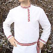 Русский стиль handmade. Livemaster - original item Russian shirt blouse