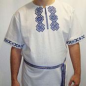 Русский стиль handmade. Livemaster - original item Russian shirt