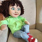 Кукольный театр ручной работы. Ярмарка Мастеров - ручная работа Планшетная кукла Дар. Handmade.