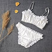 Одежда handmade. Livemaster - original item Silk set