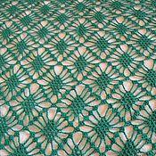 Аксессуары handmade. Livemaster - original item Emerald shawl-scarf. Handmade.