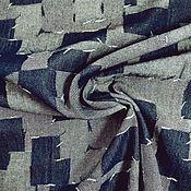 Ткани ручной работы. Ярмарка Мастеров - ручная работа Джинсовая ткань. Handmade.