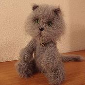 Куклы и игрушки ручной работы. Ярмарка Мастеров - ручная работа Вязаный кот Филимон. Handmade.
