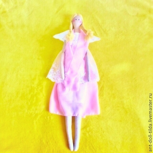 Куклы Тильды ручной работы. Ярмарка Мастеров - ручная работа. Купить Ангел. Тильда-кукла. Подарок на рождение ребеночка. Handmade.