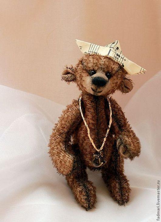 Мишки Тедди ручной работы. Ярмарка Мастеров - ручная работа. Купить Медведь Тёмка. Handmade. Коричневый, ручная работа, милый