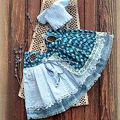 Одежда для кукол ручной работы. Ярмарка Мастеров - ручная работа Винтажный комплект для Блайз/Vintage outfit for Blythe. Handmade.