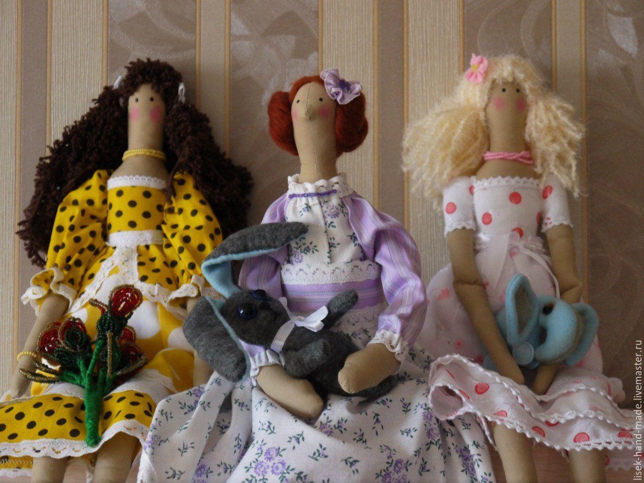 Продавать куклы тильды