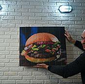 Дизайн и реклама handmade. Livemaster - original item A sign for a cafe, bar and restaurant. Handmade.