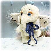 Куклы и игрушки ручной работы. Ярмарка Мастеров - ручная работа Тильда слон. Handmade.