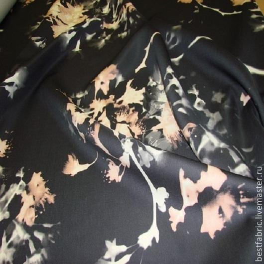 плательная ткань типа органзы сток MQ^QWEEN , Италия шерсть 70% + шелк 30% шир. 150 см тонкая, непрозрачная, шелковистая, упругая с небольшим блеском переплетение в незаметный рубчик подойдет для пышных юбок любой длины