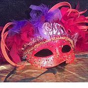 Одежда ручной работы. Ярмарка Мастеров - ручная работа Карнавальная маска Оранж. Handmade.