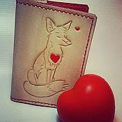 Cover handmade. Livemaster - original item passport cover. Handmade.