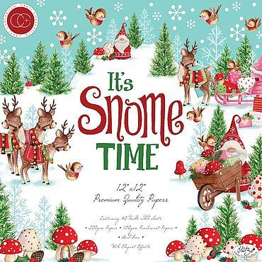 Материалы для творчества ручной работы. Ярмарка Мастеров - ручная работа Элементы коллекции It`s Snome Time от Craft Consortium. Handmade.