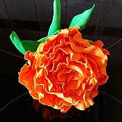 Украшения ручной работы. Ярмарка Мастеров - ручная работа Резинка с розой. Handmade.