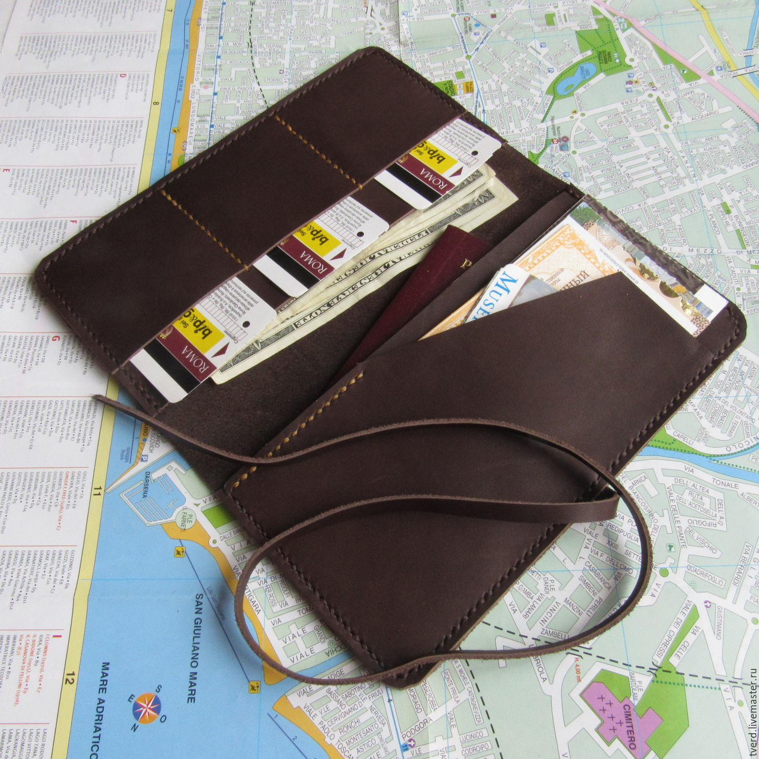 Passport and boarding pass cover travel holder mens wallet big wallets business card holders handmade livemaster handmade buy passport and boarding pass colourmoves