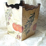 Для дома и интерьера ручной работы. Ярмарка Мастеров - ручная работа Короб для кухни. Handmade.