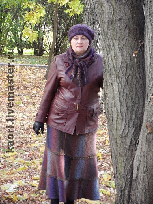 Юбки ручной работы. Ярмарка Мастеров - ручная работа. Купить юбка ОСЕННЯЯ РАДУГА. Handmade. Женская одежда, модно