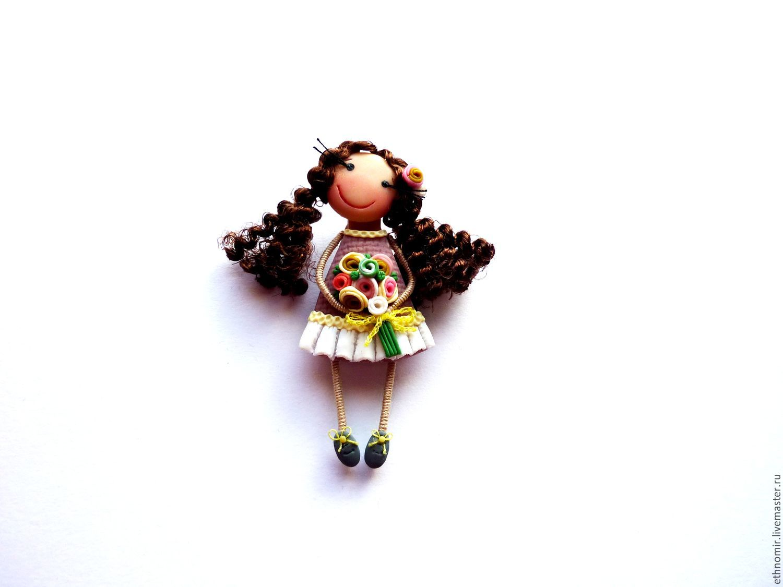 brooch girl `Helen`