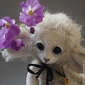 Куклы и игрушки ручной работы. Ярмарка Мастеров - ручная работа Её зовут Шанель. (Овечка).. Handmade.