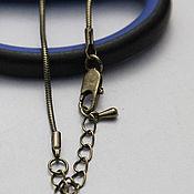 Материалы для творчества handmade. Livemaster - original item Snake chain art. 3-65, color - bronze. Handmade.
