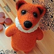 """Куклы и игрушки ручной работы. Ярмарка Мастеров - ручная работа Войлочная игрушка """"Лис Патрик"""". Handmade."""