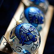 Подарки к праздникам ручной работы. Ярмарка Мастеров - ручная работа Волшебные лошади - набор шаров (3 шт). Handmade.