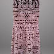 Одежда handmade. Livemaster - original item Crochet skirt Mademoiselle. Maxi handmade lace women boho beige skirt. Handmade.