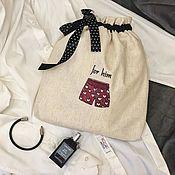 Мешочки ручной работы. Ярмарка Мастеров - ручная работа Мешочек для хранения и  путешествий. На заказ. Handmade.