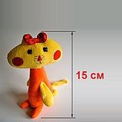 Куклы и игрушки ручной работы. Ярмарка Мастеров - ручная работа Мягкая игрушка по рисунку ребенка (20 см). Handmade.