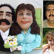 Куклы и игрушки ручной работы. Ярмарка Мастеров - ручная работа Семейный портрет куклы по фото. Handmade.