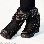 Обувь ручной работы handmade. Livemaster - original item Designer SNEAKERS handmade . custom sneakers .. Handmade.