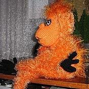 Куклы и игрушки ручной работы. Ярмарка Мастеров - ручная работа Добрый орангутанг. Handmade.