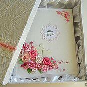 Свадебный салон ручной работы. Ярмарка Мастеров - ручная работа АЛЬБОМ НА СВАДЬБУ розовый шик. Handmade.