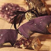 Куклы и игрушки ручной работы. Ярмарка Мастеров - ручная работа Фиолетово-черный дракон. Handmade.