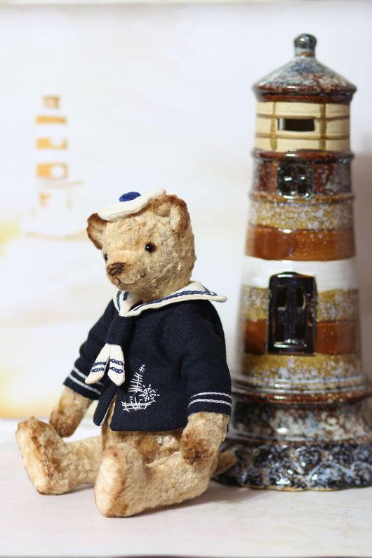 Мишки Тедди ручной работы. Ярмарка Мастеров - ручная работа. Купить Мишка Тедди Морячок 22 см. Handmade.