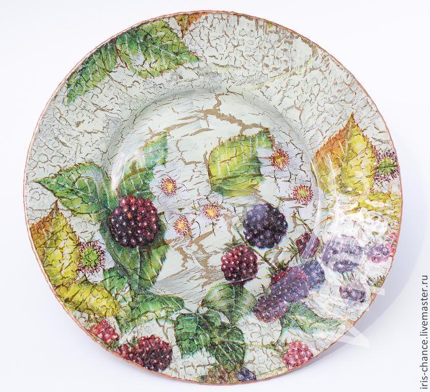 сделать картинки прямого декупажа тарелки очень удобная вещь
