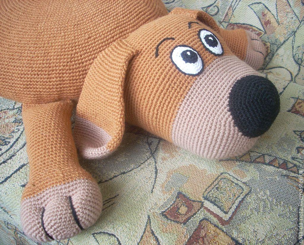 игрушки подушки вязаные крючком схемы
