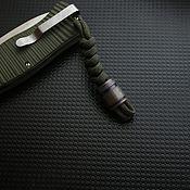 Сувениры и подарки handmade. Livemaster - original item Titanium knife bead    , knife bead. Handmade.