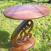 Столы ручной работы. Ярмарка Мастеров - ручная работа Столик овальный. Handmade.