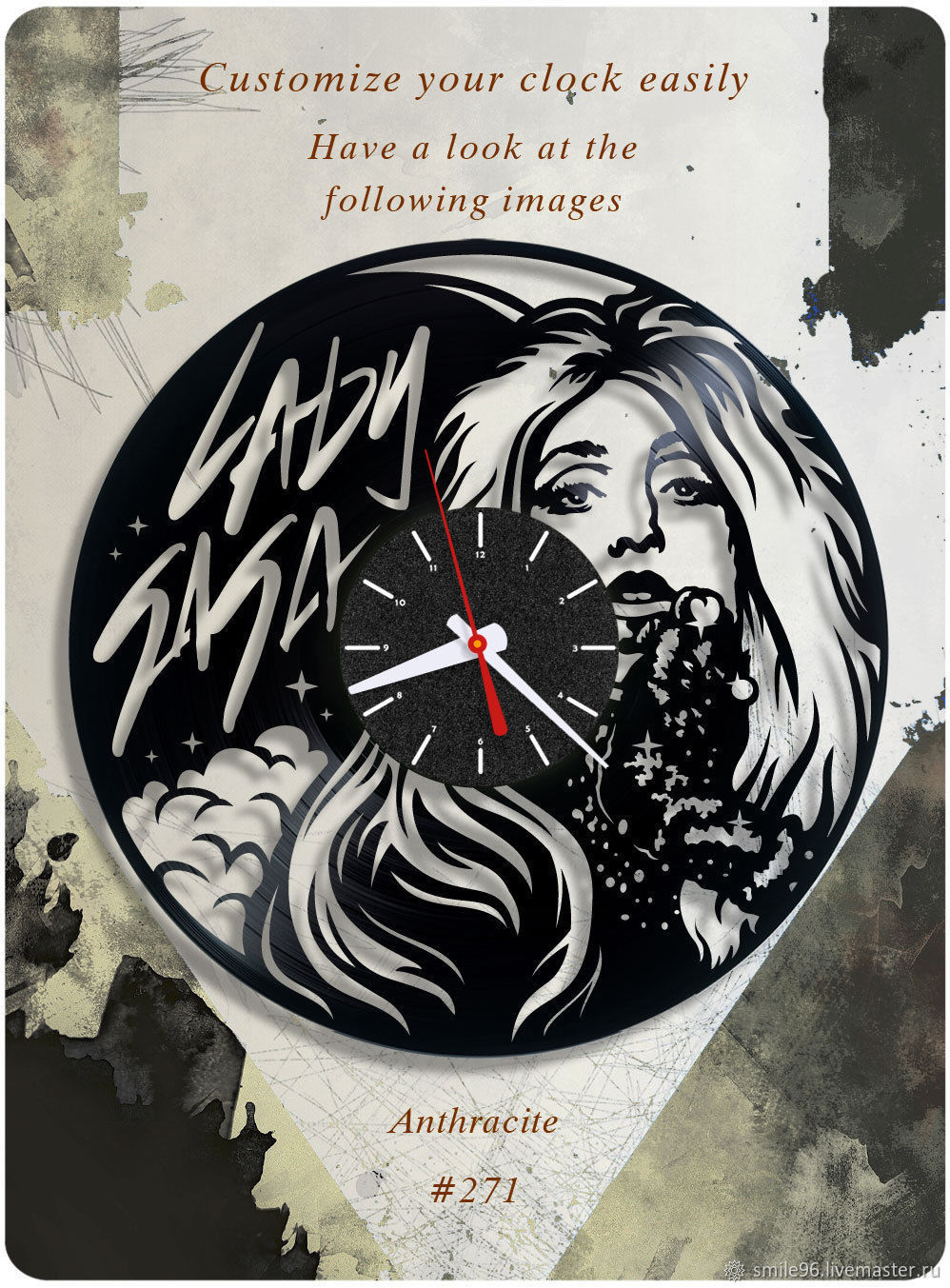 "Часы ""Леди Гага"", Часы, Екатеринбург, Фото №1"