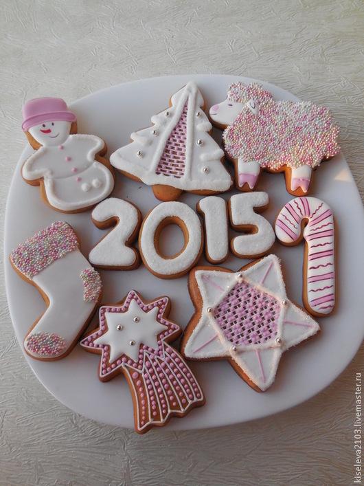 Фото Пряники имбирные.Пряники на Новый год.Мастер Киселева НАталья Дубна.