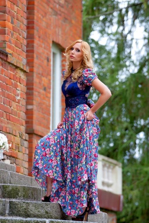 Платья ручной работы. Ярмарка Мастеров - ручная работа. Купить Платье для летнего отдыха  «Ultramarine». Handmade. Синий, стильное платье