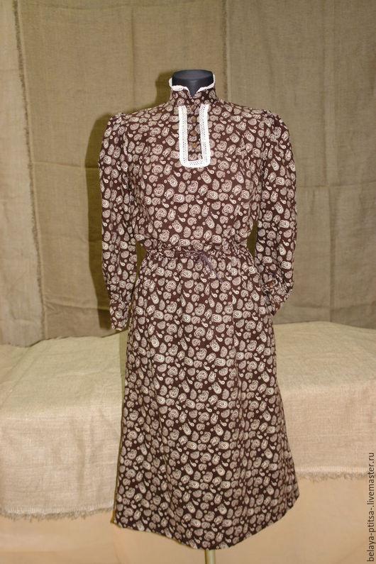 Платья ручной работы. Ярмарка Мастеров - ручная работа. Купить Платье в стиле ретро. Handmade. Пейсли, бохо стиль