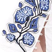 """Одежда ручной работы. Ярмарка Мастеров - ручная работа Юбка из льна""""МАЛЬВЫ"""". Handmade."""