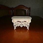 Куклы и игрушки handmade. Livemaster - original item Furniture for dolls: Stool, ottoman. Handmade.