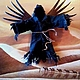 Order Copyright 3D picture of the Black angel of the desert. Vladimir Tarasov. Livemaster. . Pictures Фото №3